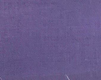 Lavender Quilter's Homespun 100% Cotton Fabric 1/2m lengths