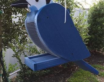 Amish Crafted Blue Jay Bird Feeder