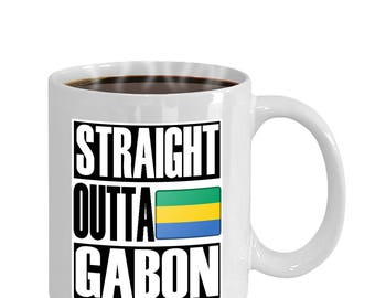 Straight Outta Gabon Mug