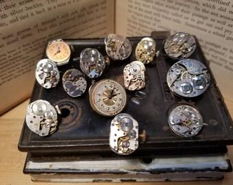 Steampunk Shirt Pins