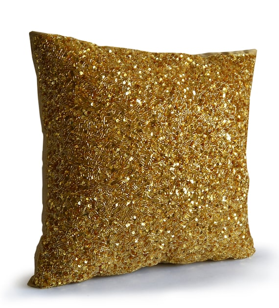 lily pillow gold pillows throw