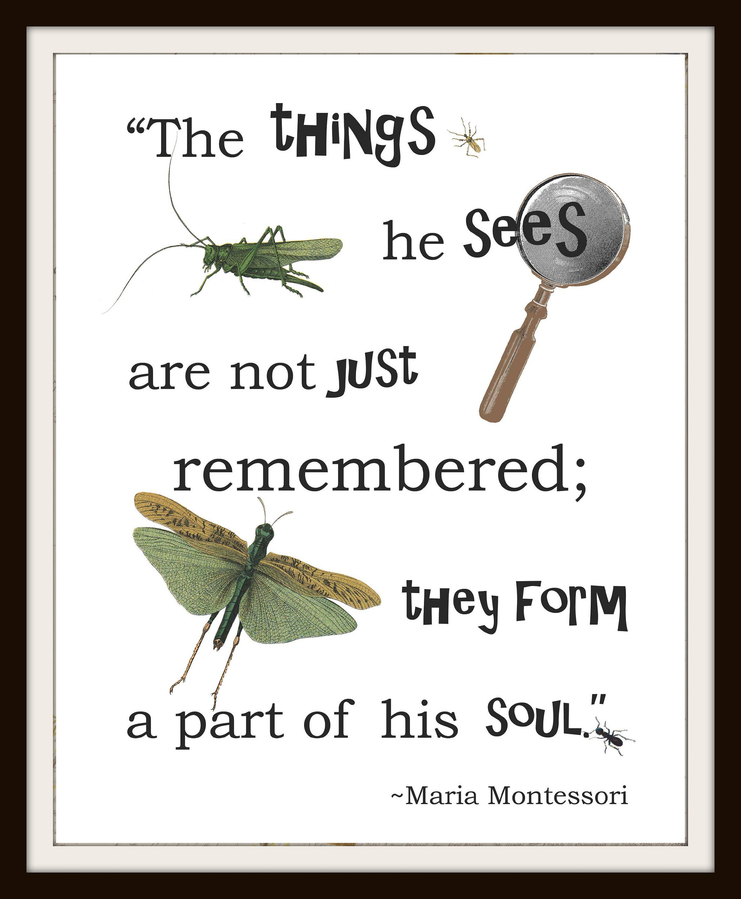 Nature Images With Quotes Download: Instant Download Nature Inspiration Maria Montessori Quote