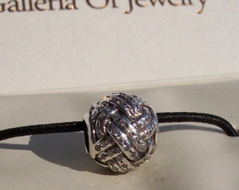 Pandora Crystallized Floral Dangle Bracelet Charm Jared UK