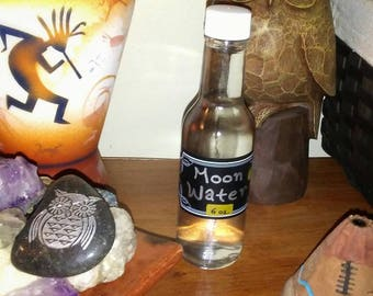 Blessed Moon Water/ Pagan Moon Water/ Spell Ingredient/ Apothecary/ Scrying Water