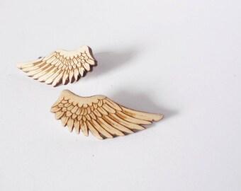 Wing Earrings by Vectorcloud