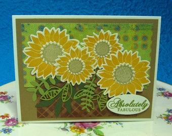 Absolutely Fabulous, Sunflowers, Celebrate Any Occasion  (#171)