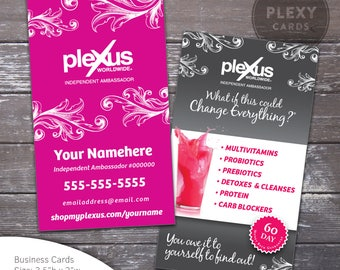 Plexus Business Cards Design - Fancy [DIGITAL FILE]