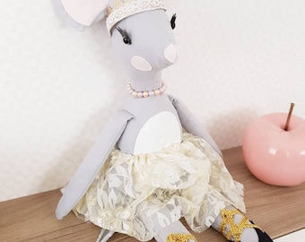Plush mouse Milly