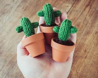 Amigurumi Cactus Tejido A Crochet Regalo Original : Cactus amigurumi potted cactus handmade cactus toy
