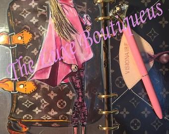 Pink Cape Fashionista- GM, MM, PM