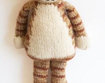 Rudy Cat PDF Knitting Pattern