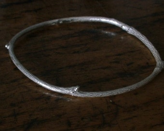 Simple Twig Bangle