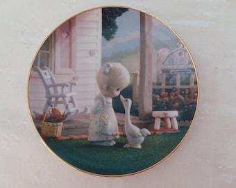 """Precious Moments, Collectible Plate, 1993 """"Make A Joyful Noise"""", HOME DECOR"""