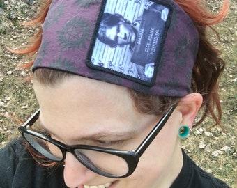 Supernatural Elastic Headband, Sam Winchester Hair Covering