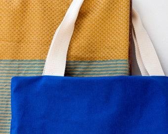 THE MARTHA canvas bag. Perfect beach bag or shopper.