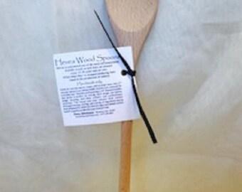 Hevea Wood Spoon