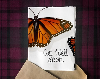 Printable Get Well 5x7 Greeting Card | Digital Download