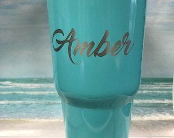Personalize any previously purchased cup
