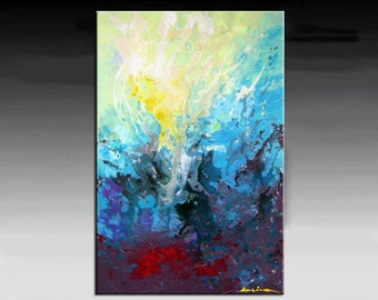 Abstract Painting, ORIGINAL Contemporary Palette Knife Painting  Textured Painting  Ready to Hang