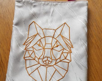 Shoulder Bag, Dice Bag, Gift Bag, Pipe Bag, Pouch, Wolf Bag, Jewelry Bag, E-reader Bag,  21,5 by 19 cm (8.5 by 7.5 inch)