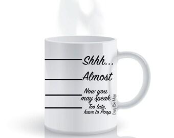 Coffee Timeline Funny Coffee Mug