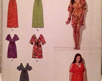 Simplicity #1375 new uncut misses dress pattern