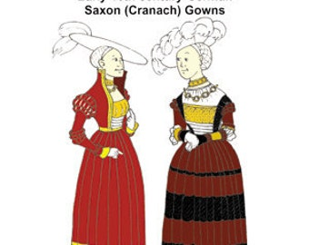 Saxon (Cranach) Gown Pattern