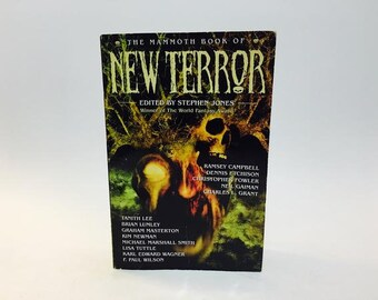 The Mammoth Book of Best New Terror Softcover Vintage Horror Paperback Book Anthology