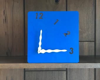 Modern half clock (great for living room)