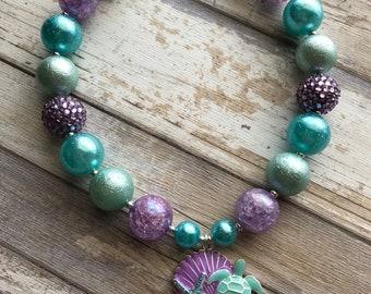 Sea Turtle Bubblegum Necklace