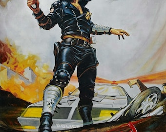The Maximum Force of The Future Mad Max 22 by 28 inch or any size you want high quality