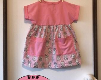 Girl's Dress PDF Pattern