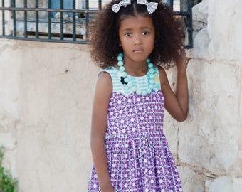 Girls spring dress - twirl dress - girls dress for spring - girls clothes for spring - toddler clothes for spring - toddler spring dress