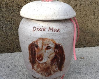 CUSTOM Dog Urn Up to 30 lb Pet