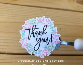1000 Wedding Thank You Stickers, Product Shipping Labels, Thank you packaging stickers, THANK YOU Stickers, Business Stickers, Cute Stickers