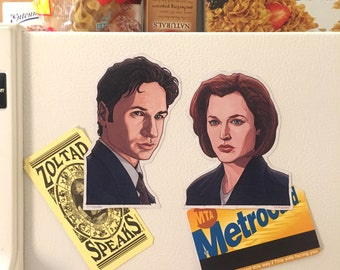 X-FILES Fridge Magnet COMBO PACK