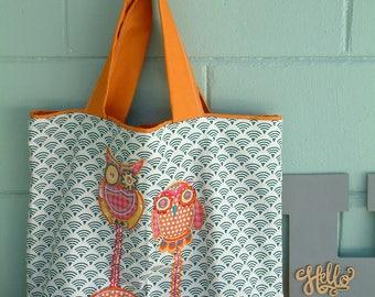 Owl Tote, Shoulder Bag, Tote, Morethanasmile