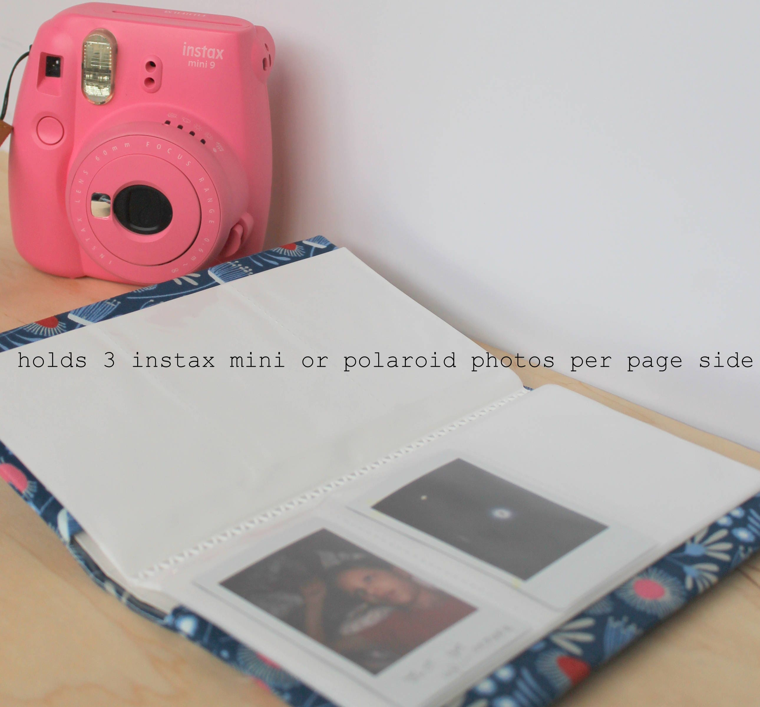 custom Instax mini album polaroid album personalized custom photo ...