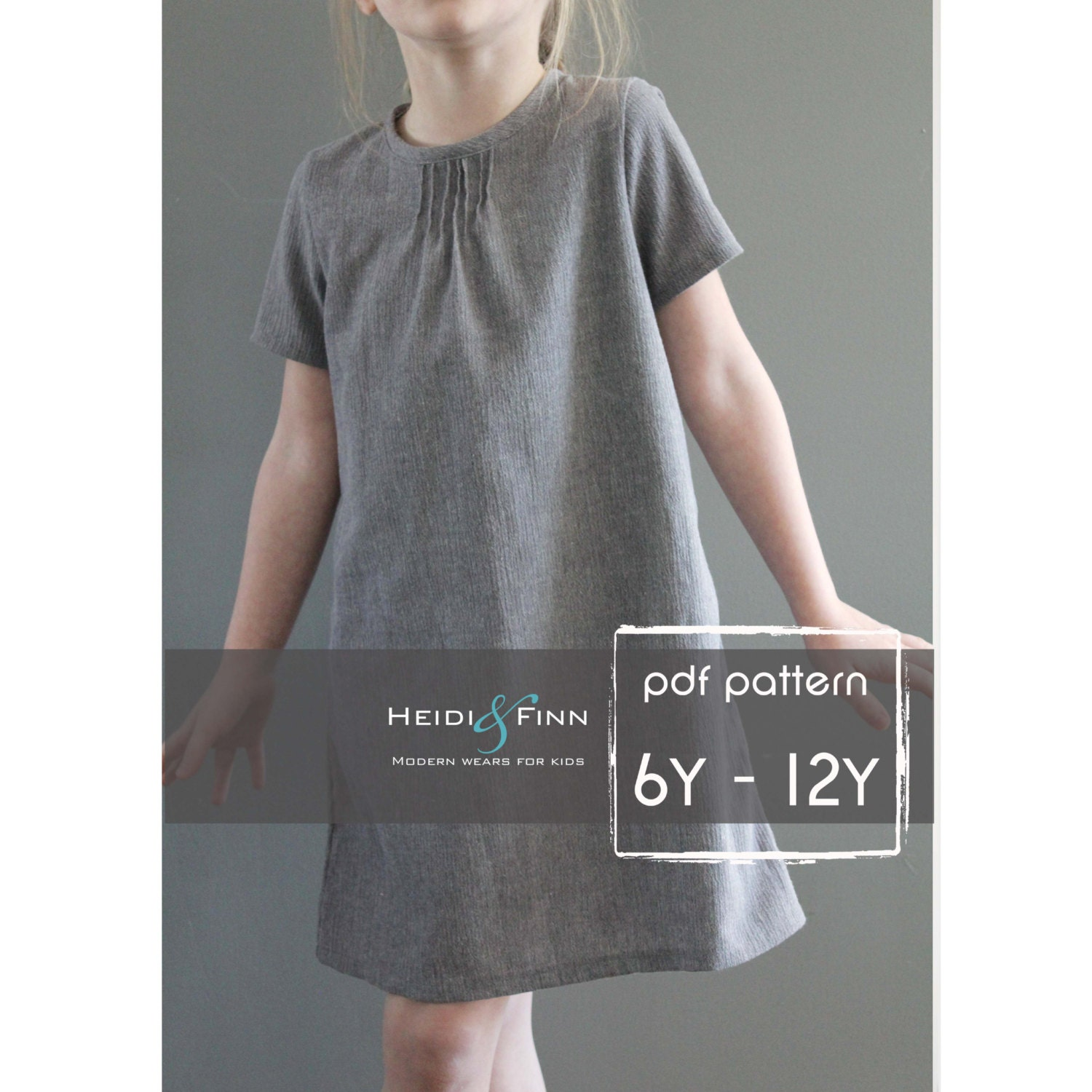 Pintuck blouse and dress pdf pattern and tutorial 6 12y easy zoom jeuxipadfo Image collections