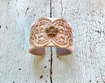 The Crown Adjustable Cuff Bracelet