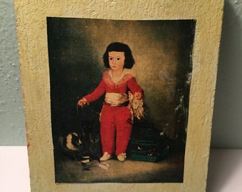Vintage Little Prince Print