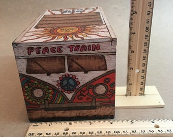 1963 VW Hippie Bus Weed Box