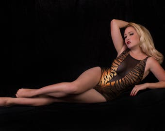 Scandalous Tiger 1 Piece Swimsuit
