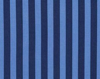 Tula Pink - Tabby Road - Tent Stripe - Blue Bird - (PWTP069.BLUEB) - 1/2 Yard++