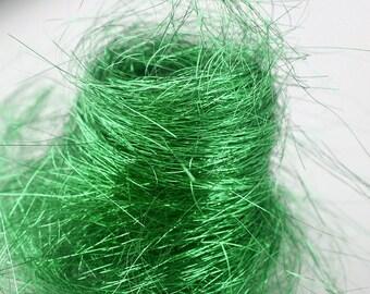 Green angelina spinning fiber - extra fine