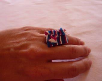 Starry rectangular ring