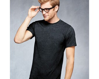 Men's Tall Short Sleeve T-shirt - XLT 2XLT 3XLT - Custom Colors for Any Design in Our Shop - Adult Tee VOzvG1