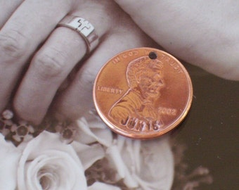 And A Shiny Penny For Your Shoe - wedding or special event penny 2018 or sooner year.
