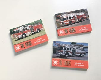 Fire engine Trading Cards 44 cards Collectible cards 1994