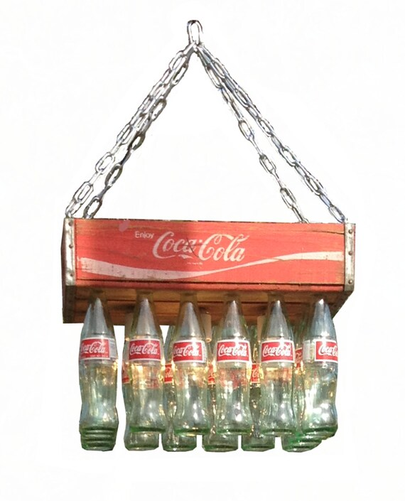 Coke crate chandelier aloadofball Images